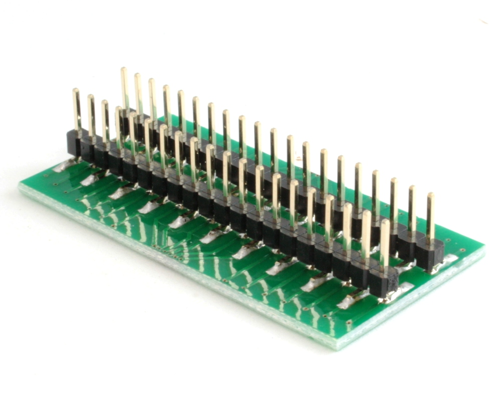 Generic Dual Row 0.50mm Pitch 40-Pin to DIP-40 Adapter 1