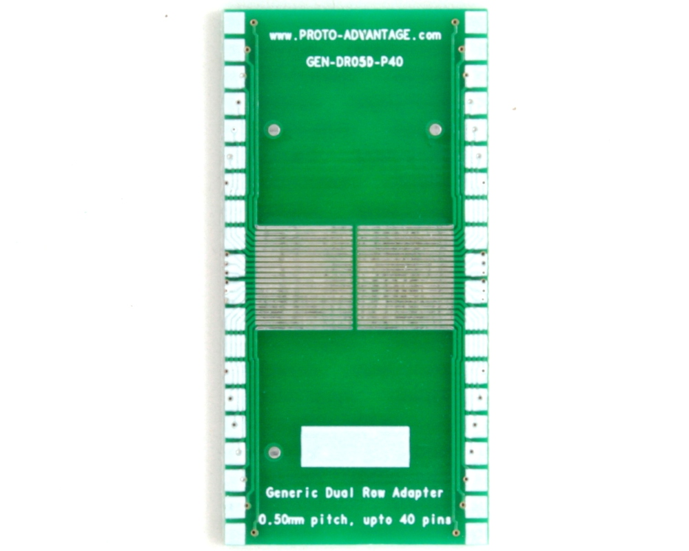 Generic Dual Row 0.50mm Pitch 40-Pin to DIP-40 Adapter 2