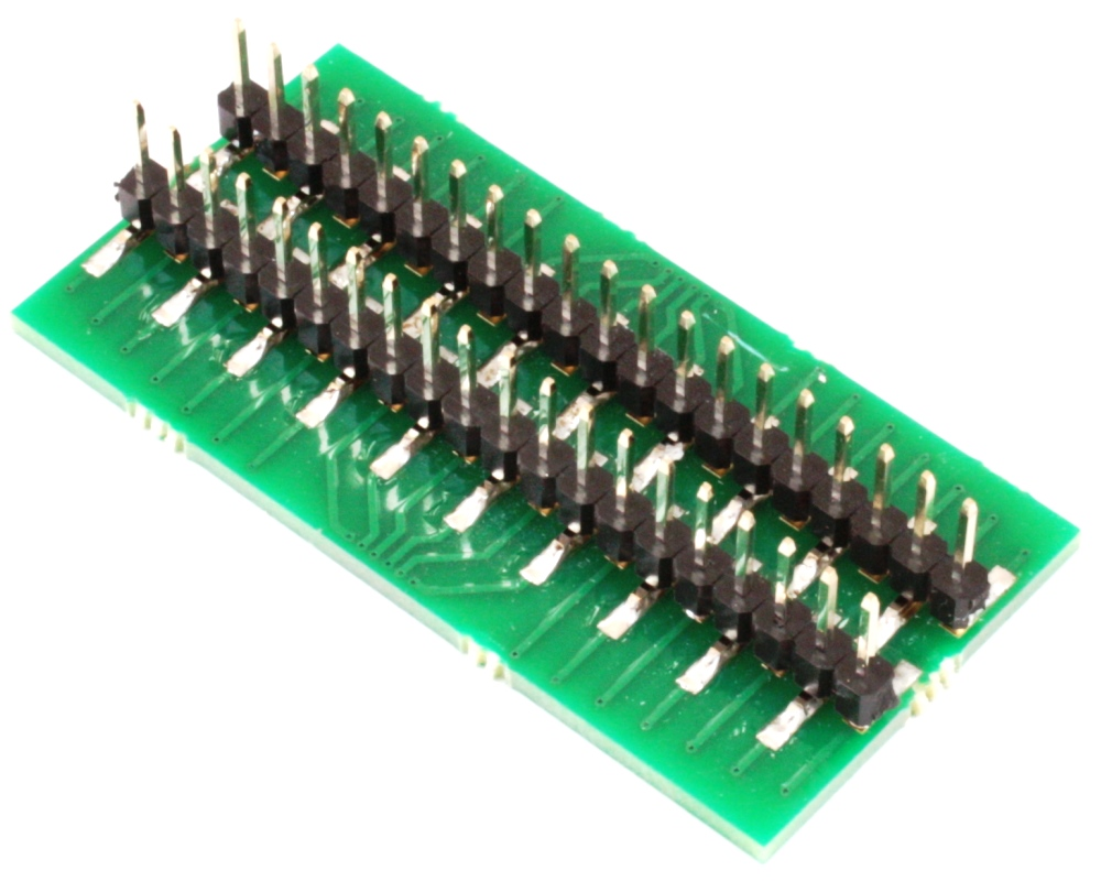 Generic Dual Row 0.635mm Pitch 40-Pin to DIP-40 Adapter 1