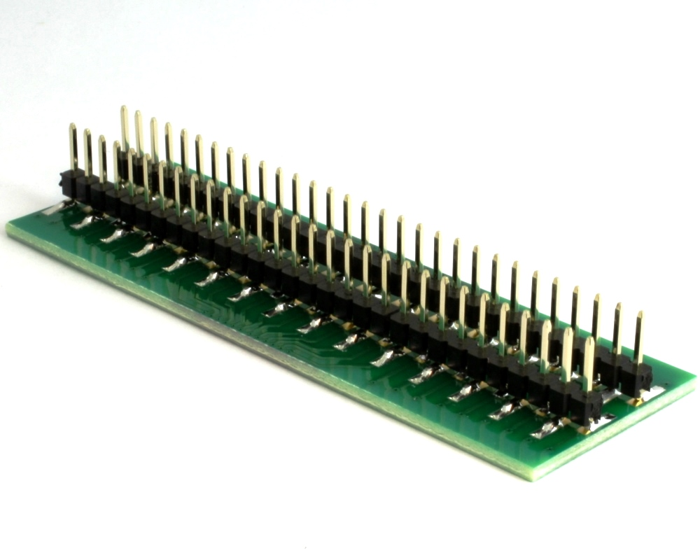 Generic Dual Row 0.635mm Pitch 60-Pin to DIP-60 Adapter 1