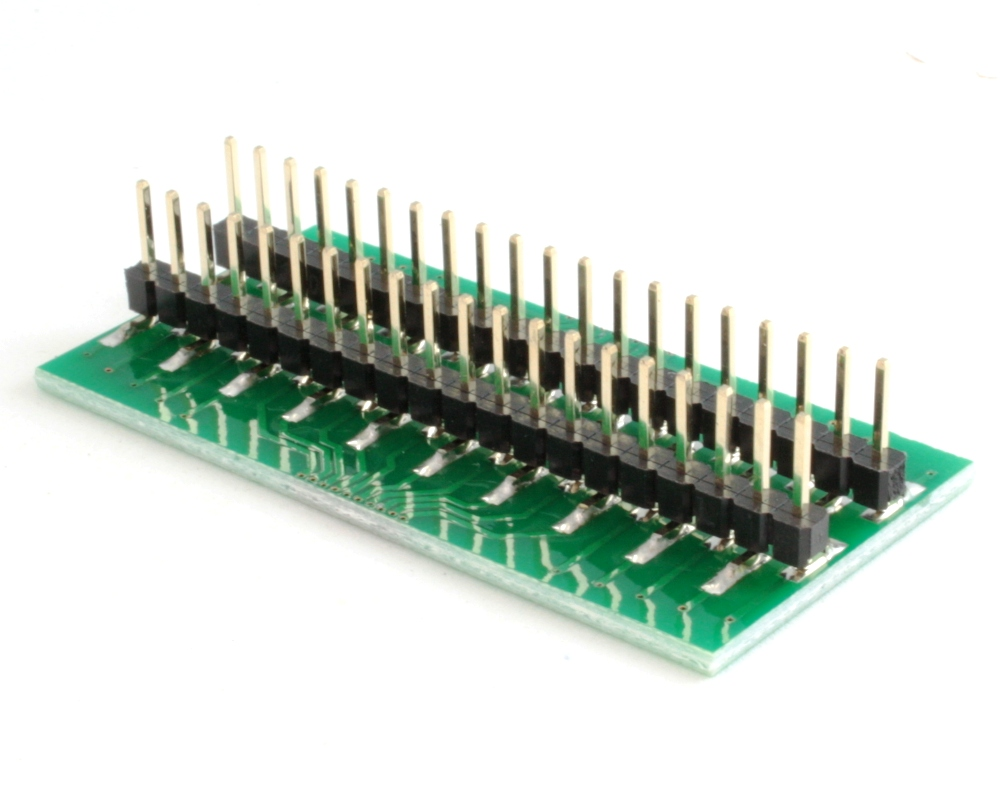 Generic Dual Row 0.65mm Pitch 40-Pin to DIP-40 Adapter 1