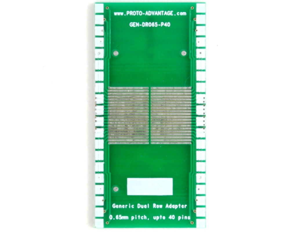 Generic Dual Row 0.65mm Pitch 40-Pin to DIP-40 Adapter 2