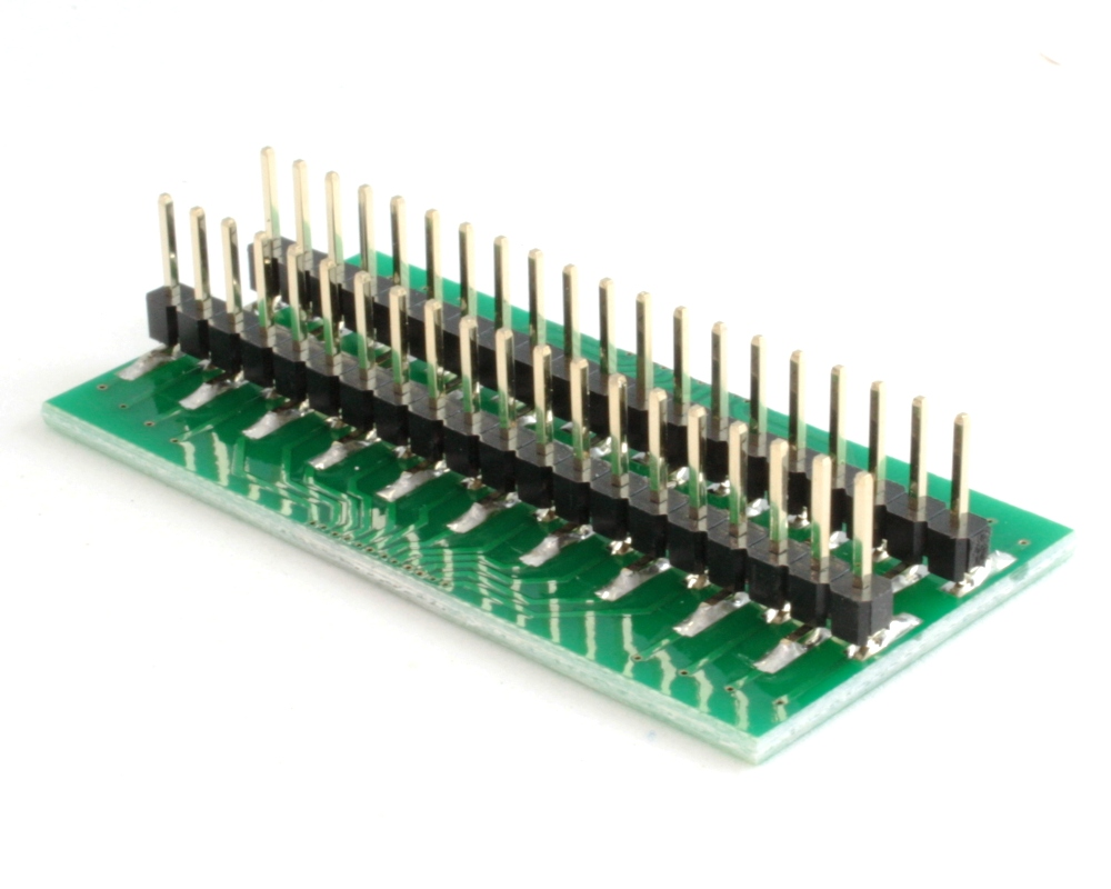 Generic Dual Row 0.70mm Pitch 40-Pin to DIP-40 Adapter 1
