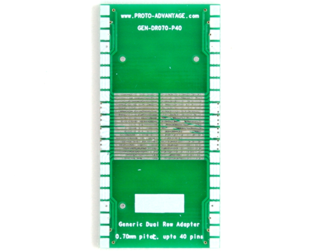 Generic Dual Row 0.70mm Pitch 40-Pin to DIP-40 Adapter 2