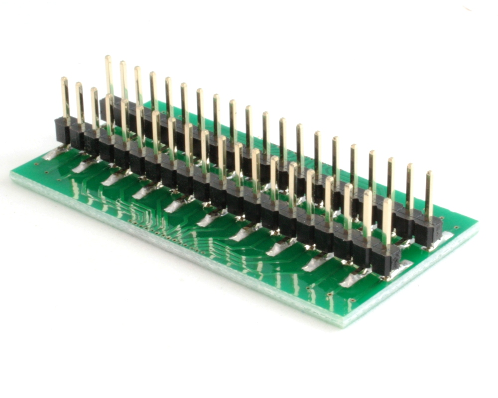 Generic Dual Row 0.80mm Pitch 40-Pin to DIP-40 Adapter 1