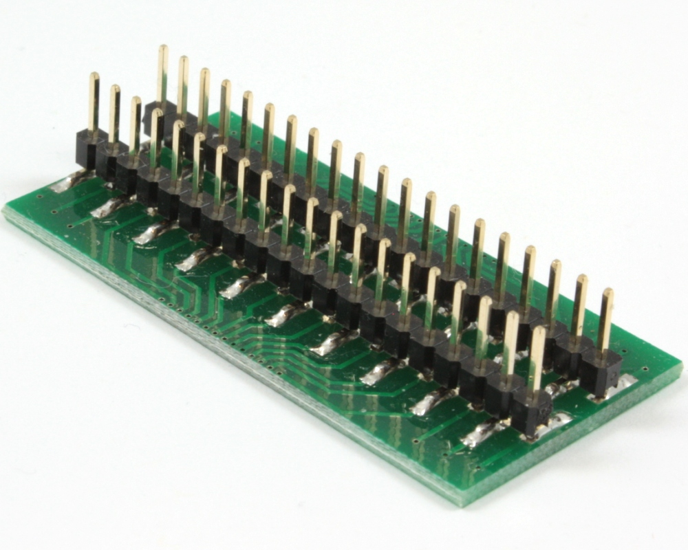 Generic Dual Row 1.00mm Pitch 40-Pin to DIP-40 Adapter 1
