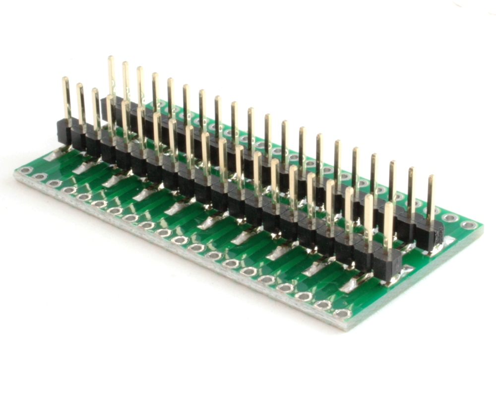 Generic Dual Row 2.54mm Pitch 40-Pin to DIP-40 Adapter 1