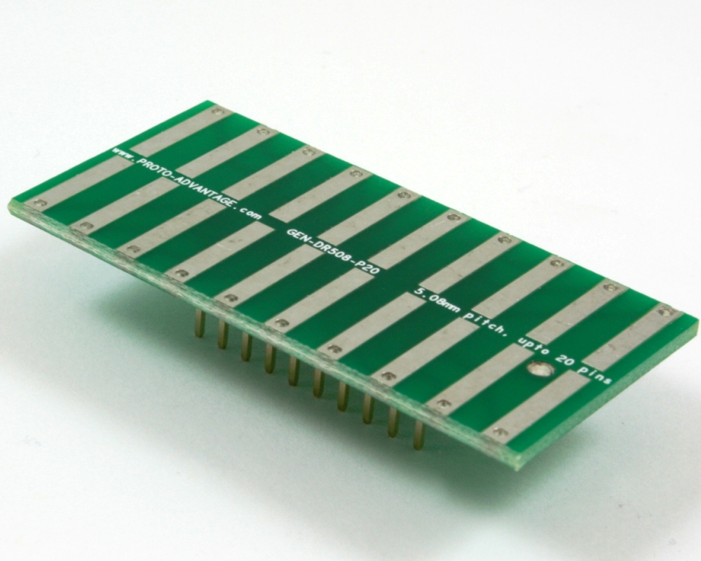 Generic Dual Row 5.08mm Pitch 20-Pin to DIP-20 Adapter 0