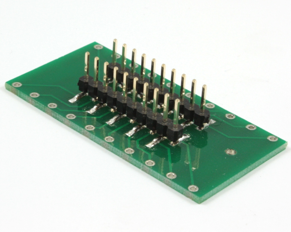 Generic Dual Row 5.08mm Pitch 20-Pin to DIP-20 Adapter 1