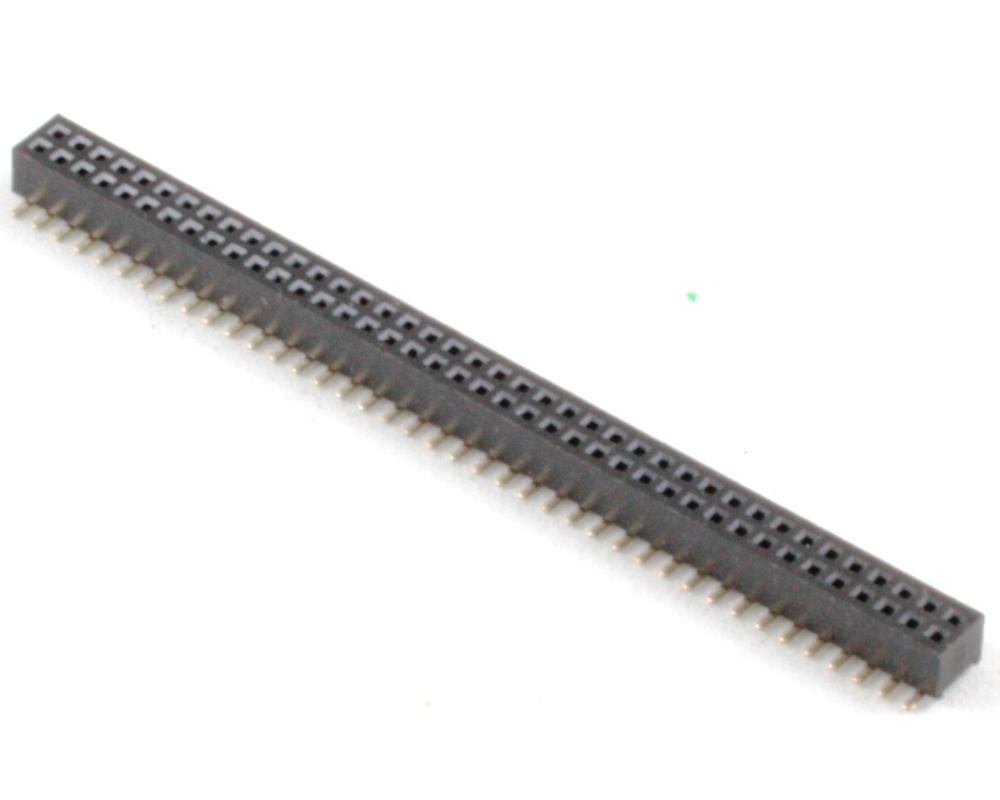 1.00 mm 80 pin Vertical Female Header Surface Mount Gold 0