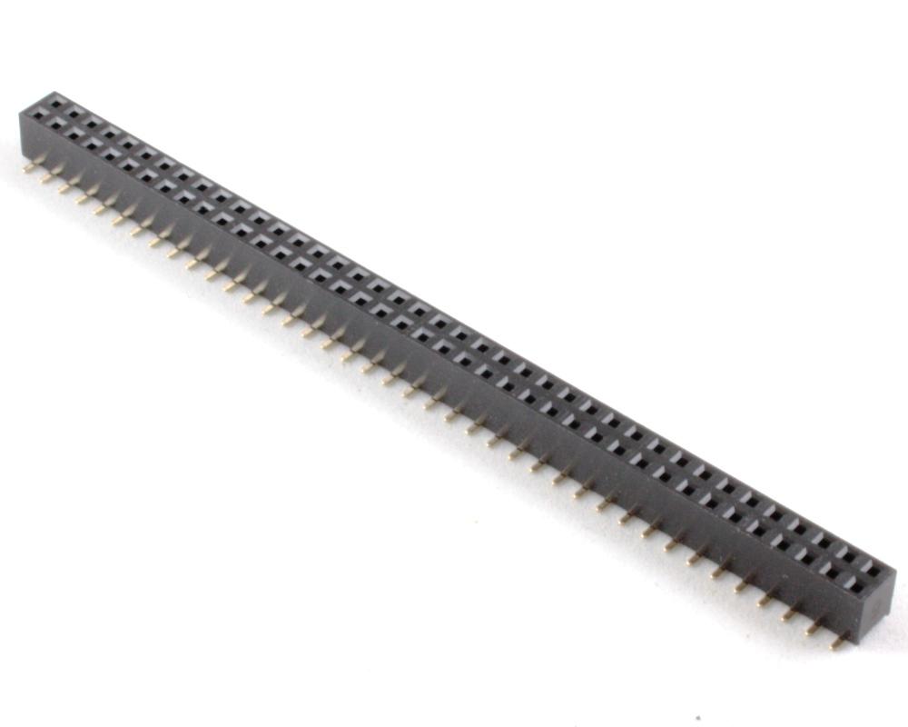 2.00 mm 80 pin Vertical Female Header Surface Mount Gold 0