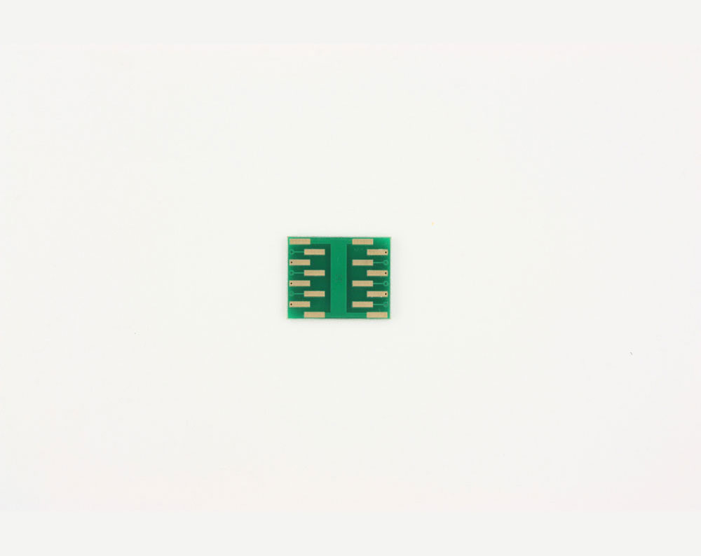 QFN-12 to DIP-16 SMT Adapter (0.8 mm pitch, 4 x 4 mm body, 2.1 x 2.1 mm pad) 3