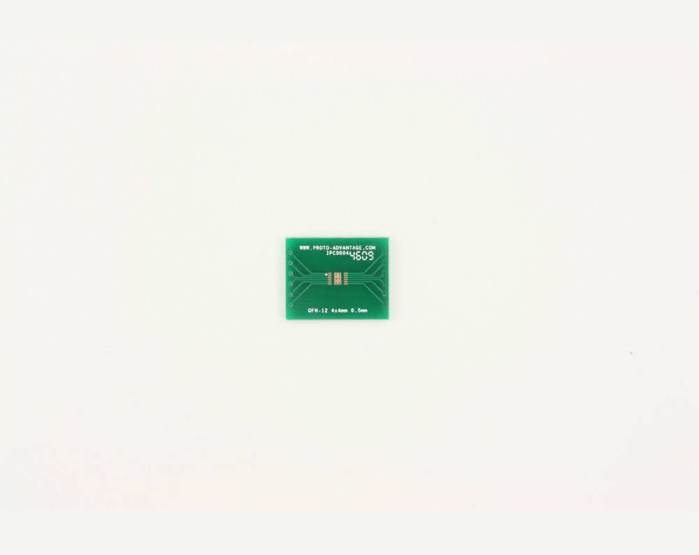 QFN-12 to DIP-16 SMT Adapter (0.5 mm pitch, 4 x 4 mm body, 1.6 x 2.8 mm pad) 2