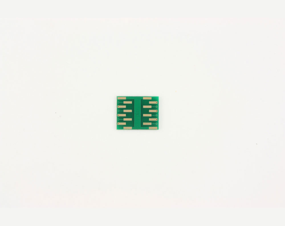 QFN-12 to DIP-16 SMT Adapter (0.5 mm pitch, 4 x 4 mm body, 1.6 x 2.8 mm pad) 3