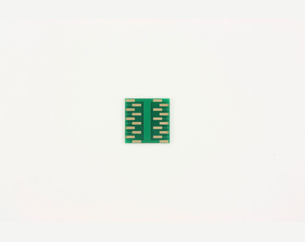 QFN-16 to DIP-20 SMT Adapter (0.5 mm pitch, 3 x 3 mm body, 1.5 x 1.5 mm pad) 3