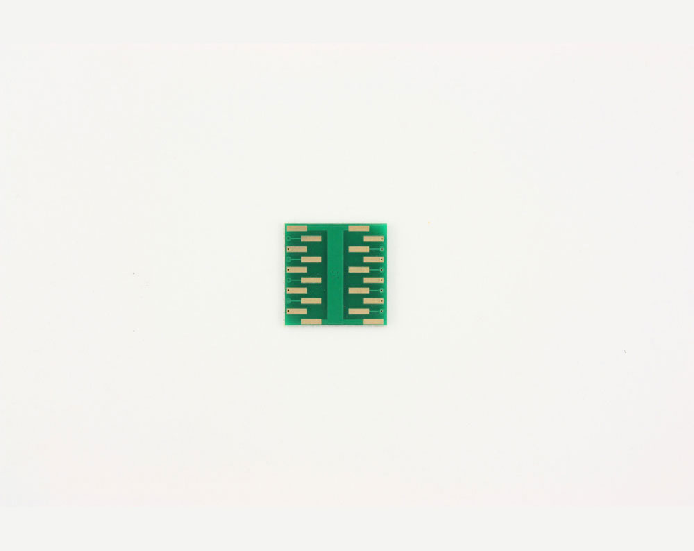 LFCSP-16 to DIP-20 SMT Adapter (0.65 mm pitch, 4 x 4 mm body, 2.1 x 2.1 mm pad) 3