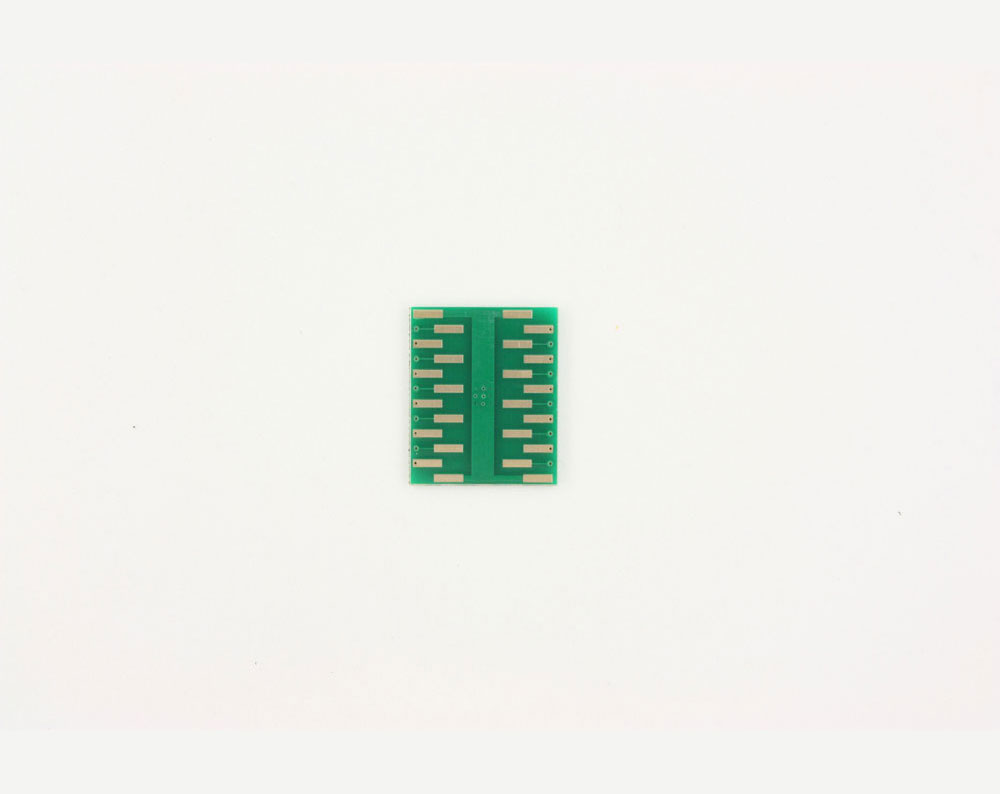 QFN-20 to DIP-24 SMT Adapter (0.8 mm pitch, 6 x 6 mm body, 3.4 x 3.4 mm pad) 3