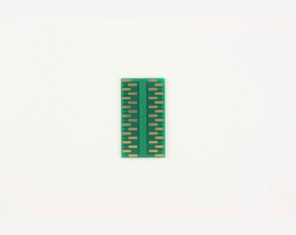 QFN-32 to DIP-36 SMT Adapter (0.5 mm pitch, 5 x 5 mm body, 3.1 x 3.1 mm pad) 3