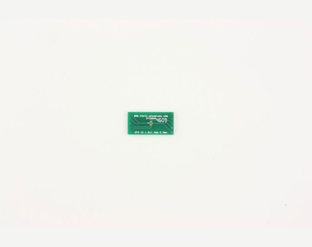 QFN-10 to DIP-10 SMT Adapter (0.4 mm pitch, 1.8 x 1.4 mm body) 2
