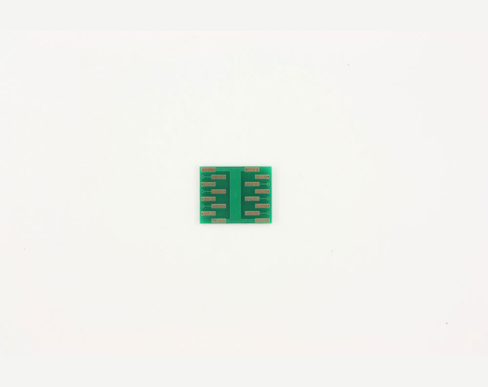 QFN-12 to DIP-16 SMT Adapter (0.5 mm pitch, 3 x 3 mm body, 1.7 x 1.7 mm pad) 3