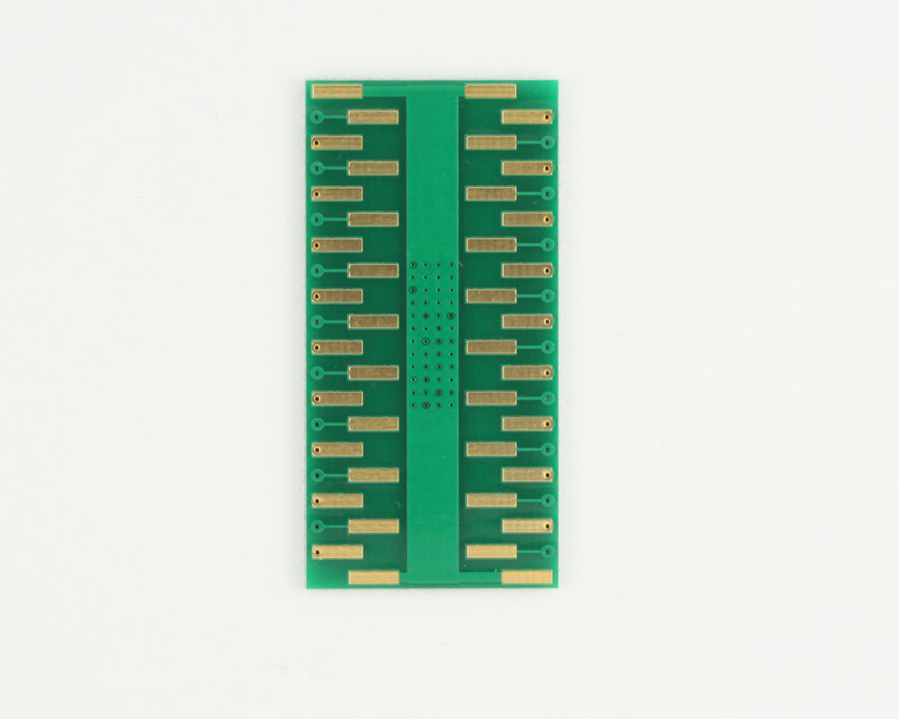 PowerSOIC-36 to DIP-40 SMT Adapter (0.65 mm pitch, 16 x 11 mm) 3