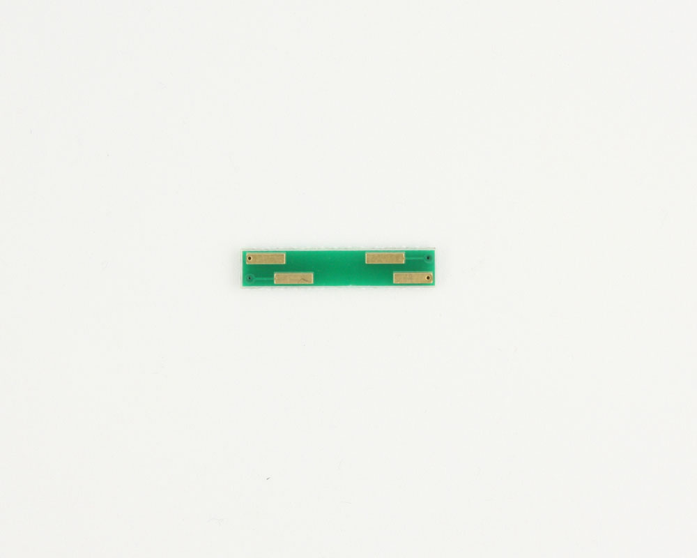 DFN-4 to DIP-4 SMT Adapter (0.5 mm pitch, 1.3 x 1.5 mm body) 1