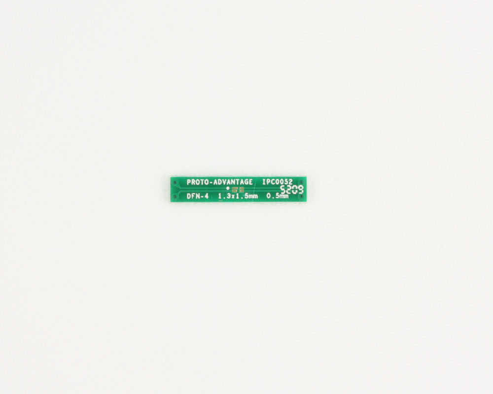 DFN-4 to DIP-4 SMT Adapter (0.5 mm pitch, 1.3 x 1.5 mm body) 2