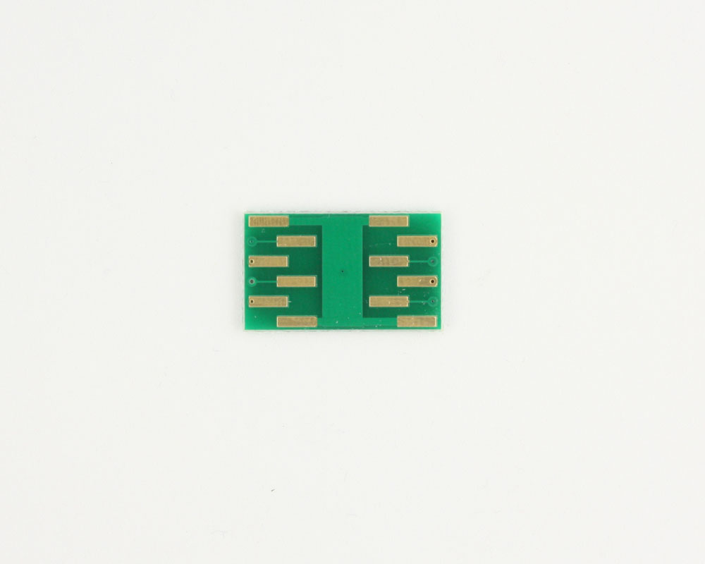 DFN-8 to DIP-12 SMT Adapter (0.5 mm pitch, 2.5 x 2.0 mm body) 1