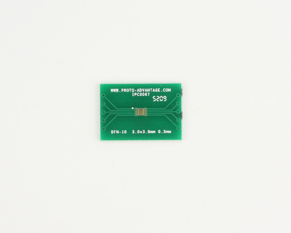 DFN-10 to DIP-14 SMT Adapter (0.5 mm pitch, 3.0 x 3.0 mm body) 2