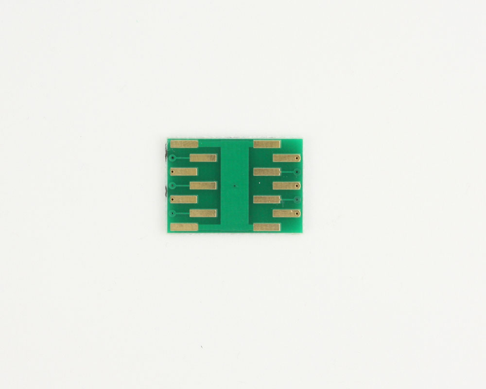 DFN-10 to DIP-14 SMT Adapter (0.5 mm pitch, 3.0 x 3.0 mm body) 3