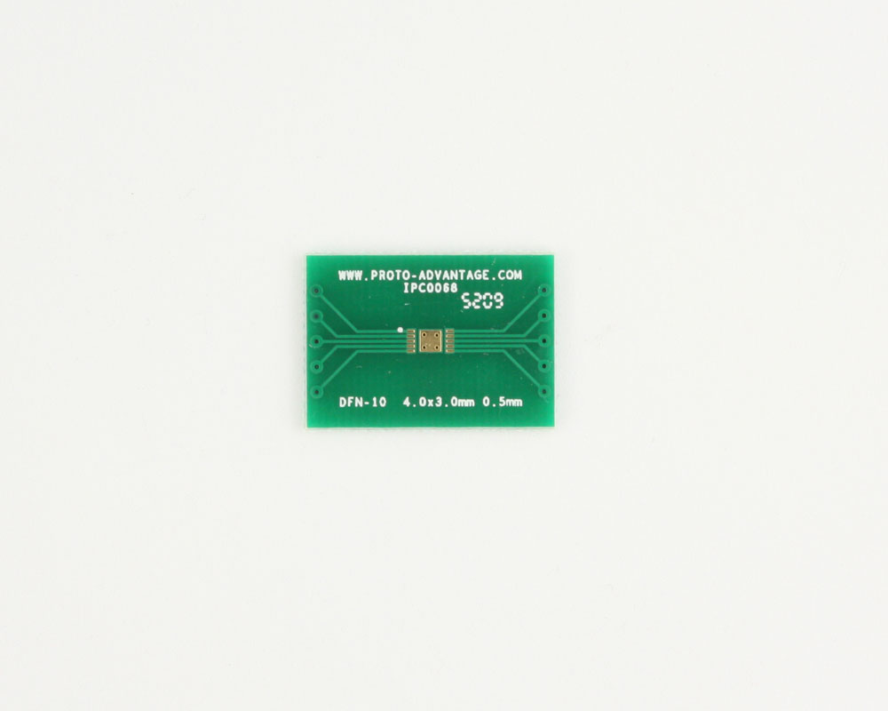 DFN-10 to DIP-14 SMT Adapter (0.5 mm pitch, 4.0 x 3.0 mm body) 2