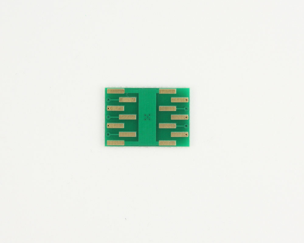DFN-10 to DIP-14 SMT Adapter (0.8 mm pitch, 4.0 x 4.0 mm body) 1
