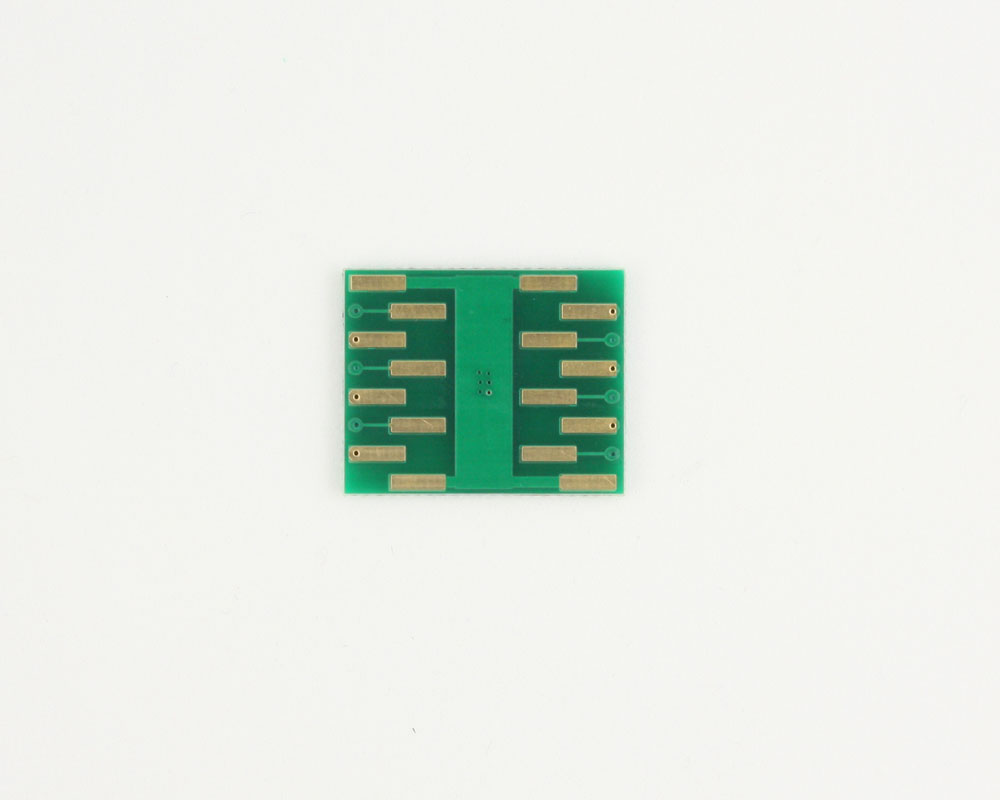 DFN-12 to DIP-16 SMT Adapter (0.5 mm pitch, 4.0 x 4.0 mm body) 1