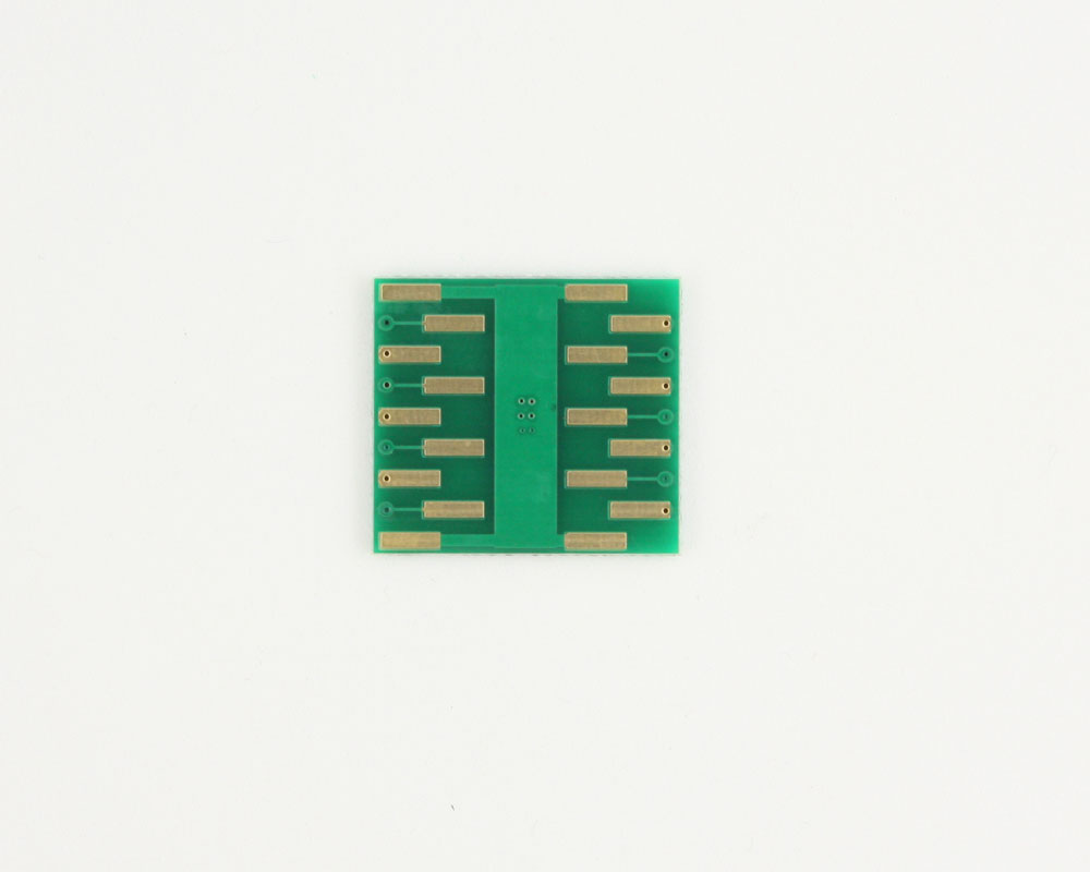 DFN-14 to DIP-18 SMT Adapter (0.5 mm pitch, 4.0 x 3.0 mm body) 1