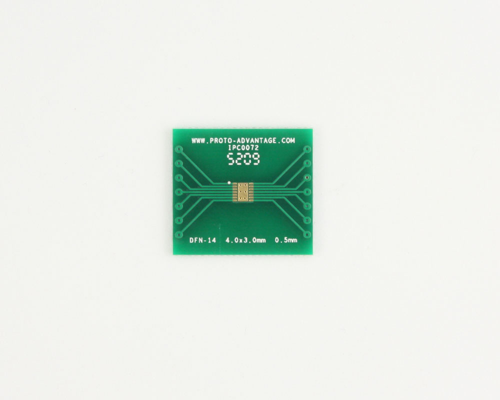 DFN-14 to DIP-18 SMT Adapter (0.5 mm pitch, 4.0 x 3.0 mm body) 2