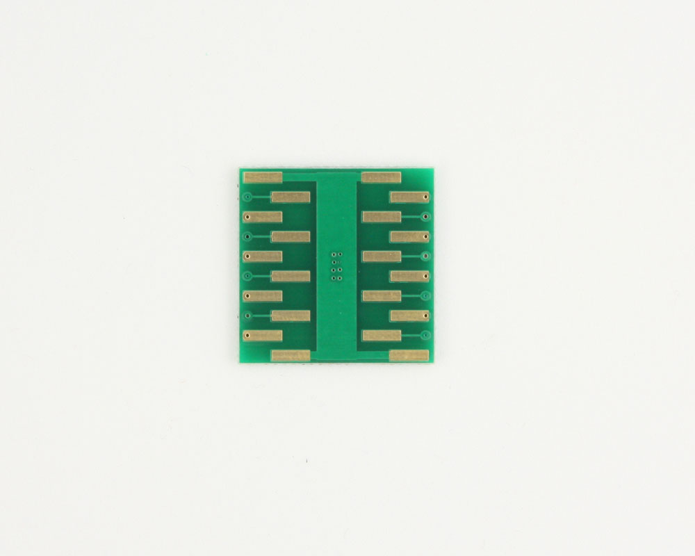 DFN-16 to DIP-20 SMT Adapter (0.5 mm pitch, 5.0 x 3.0 mm body) 1