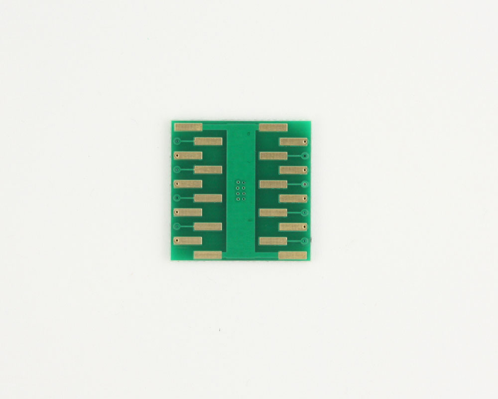 DFN-16 to DIP-20 SMT Adapter (0.5 mm pitch, 5.0 x 4.0 mm body) 1