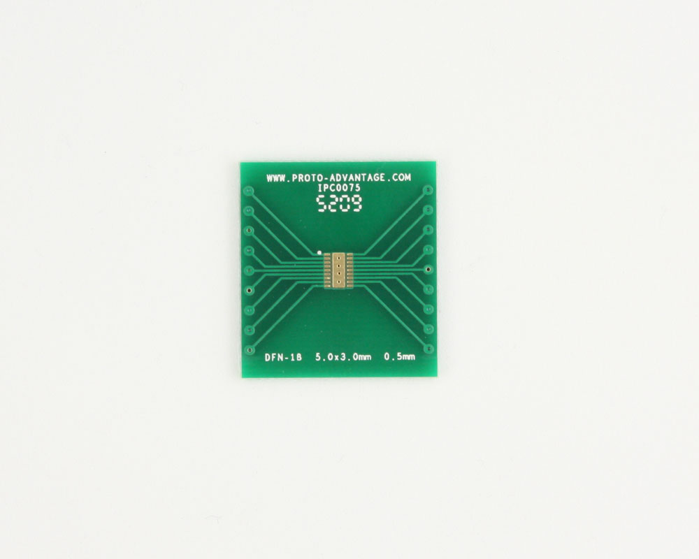 DFN-18 to DIP-22 SMT Adapter (0.5 mm pitch, 5.0 x 3.0 mm body) 2