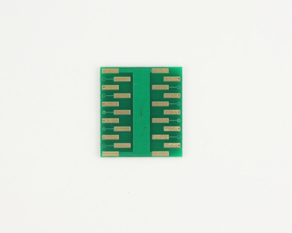 DFN-18 to DIP-22 SMT Adapter (0.5 mm pitch, 5.0 x 3.0 mm body) 3