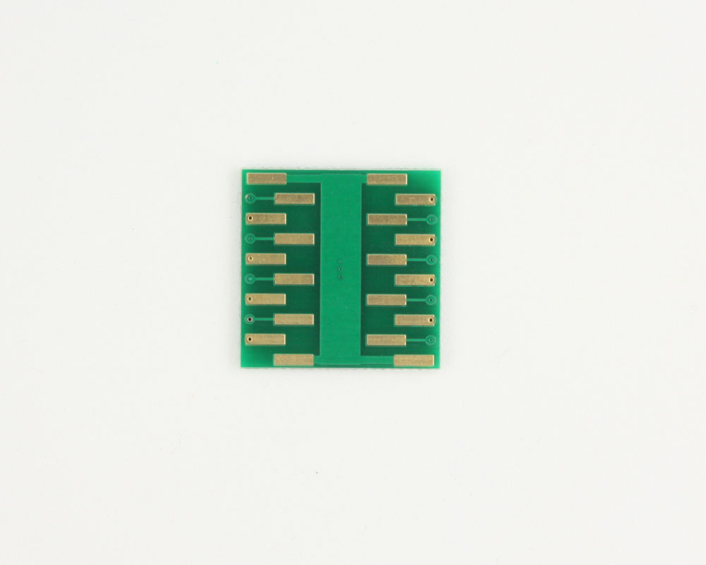 MSOP-16 to DIP-20 SMT Adapter (0.5 mm pitch, 4.0 x 3.0 mm body) 1