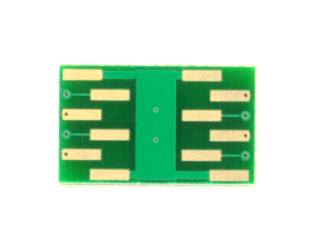 DFN-8 to DIP-12 SMT Adapter (0.5 mm pitch, 3.0 x 2.0 mm body) 3