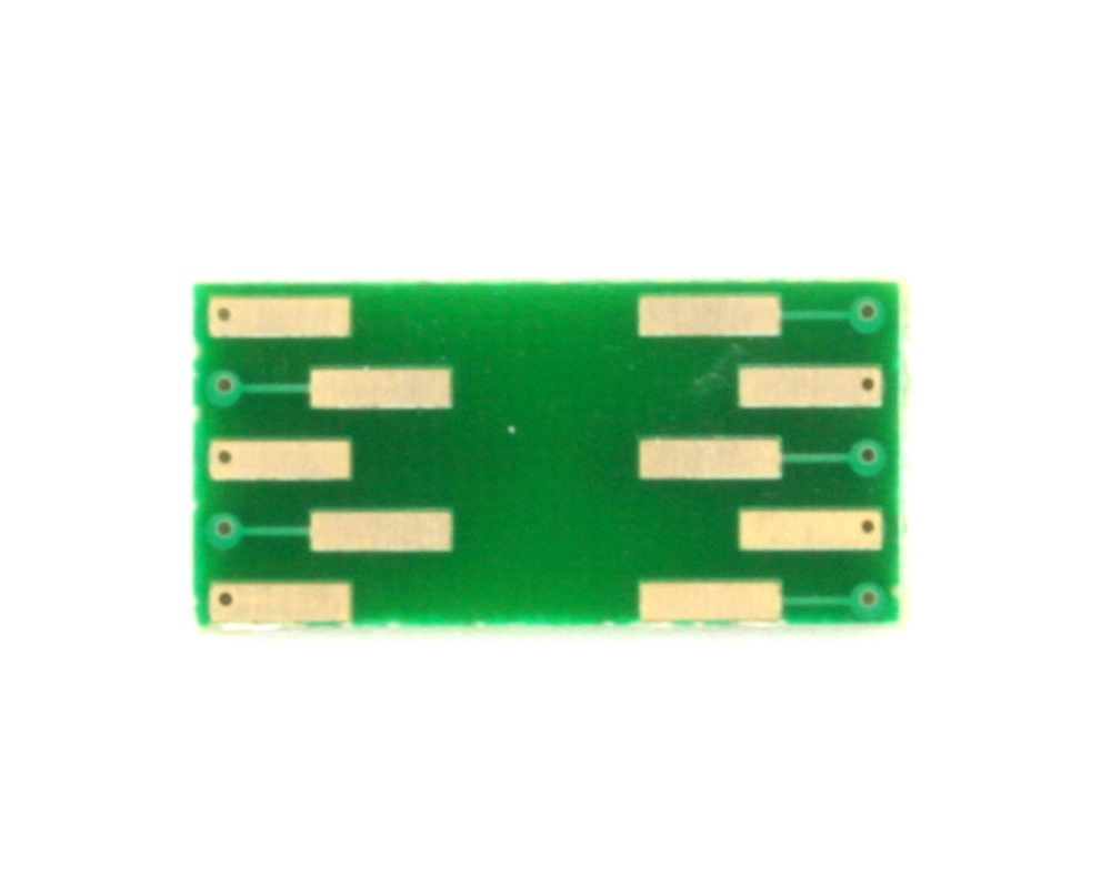 DFN-10 to DIP-10 SMT Adapter (0.4 mm pitch, 2.0 x 2.0 mm body) 1