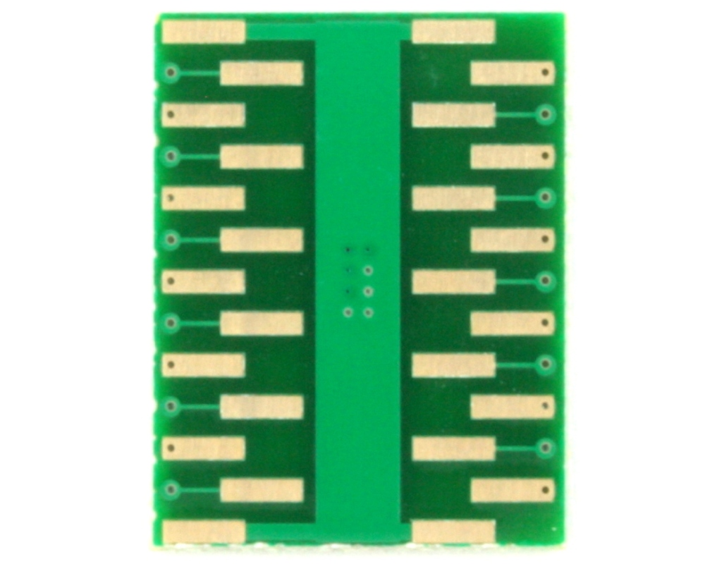 DFN-22 to DIP-26 SMT Adapter (0.5 mm pitch, 6.0 x 5.0 mm body) 1