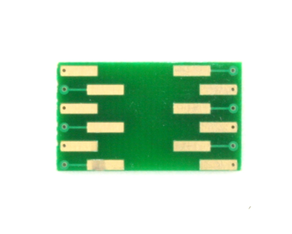 LGA-12 to DIP-12 SMT Adapter (0.5 mm pitch, 3.0 x 3.0 mm body) 1