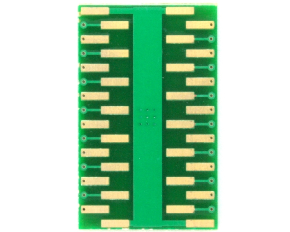 PowerSSOP-28 to DIP-32 SMT Adapter (0.65 mm pitch, 9.7 x 6.1mm) 3