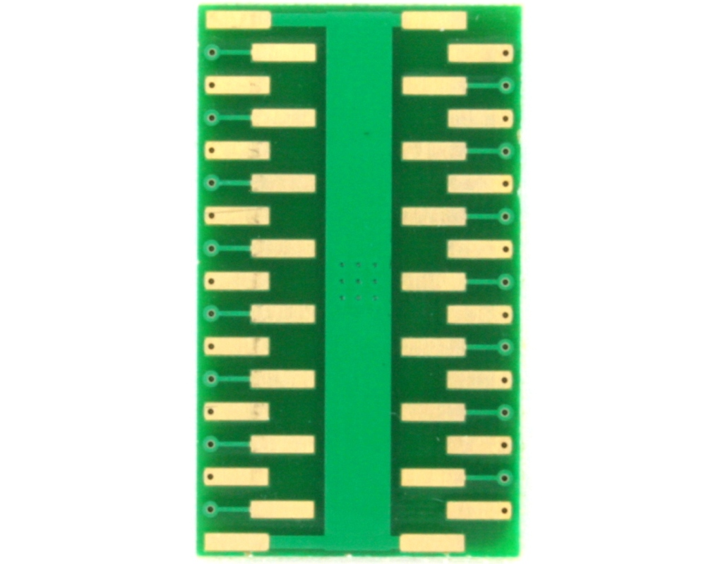 PowerSSOP-30 to DIP-34 SMT Adapter (0.65 mm pitch, 11 x 6.1 mm) 1