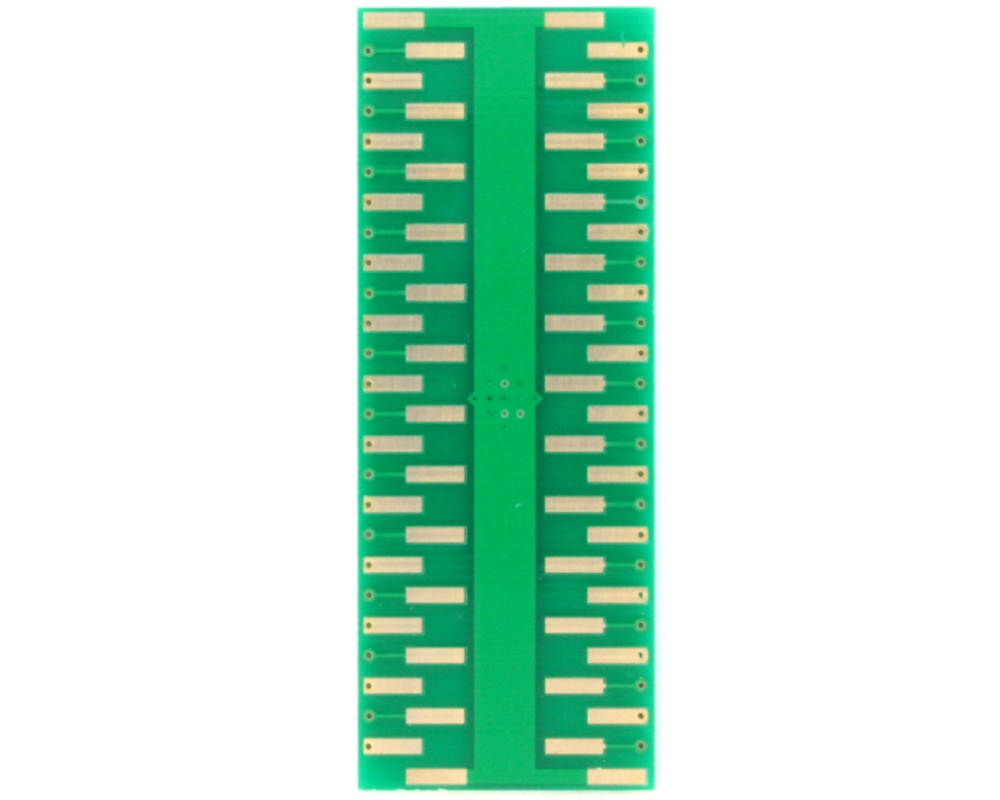 QFN-48 to DIP-52 SMT Adapter (0.65 mm pitch, 9.0 x 9.0 mm body, 6.8 x 6.8 mm pad 3