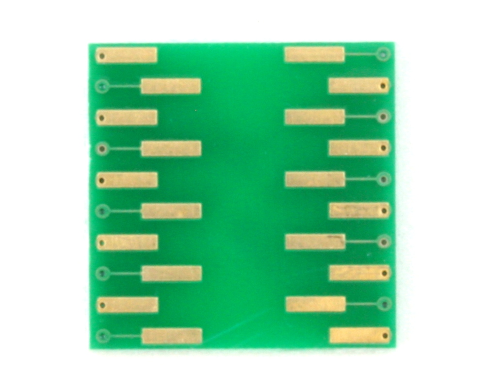 QFN-20 to DIP-20 SMT Adapter (0.4 mm pitch, 3.0 x 3.0 mm body) 1