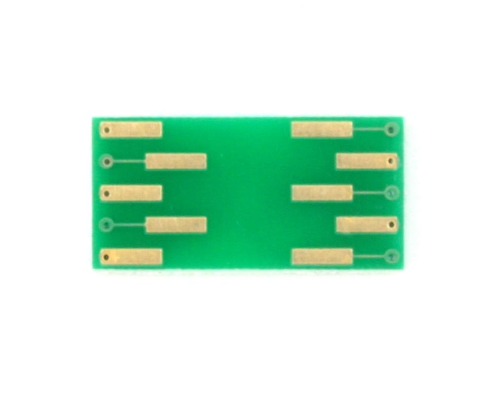 LGA-10 to DIP-10 SMT Adapter (3.0 x 5.0 mm body) 1
