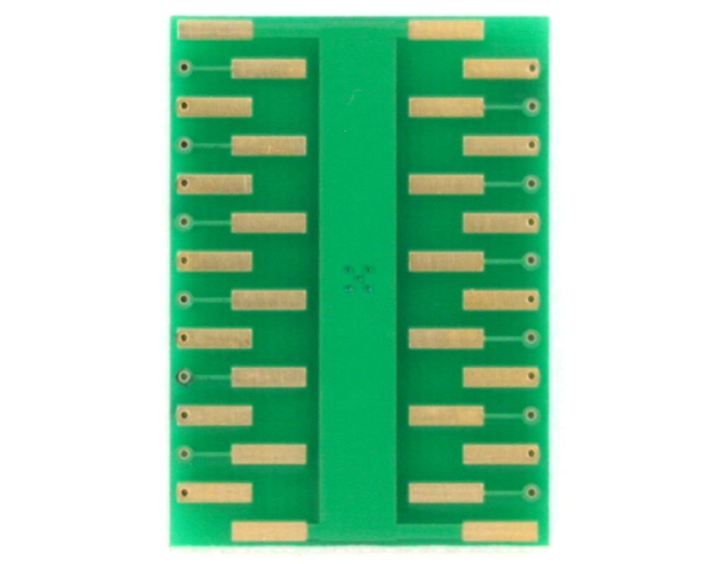 QFN-24 to DIP-28 SMT Adapter (0.4 mm pitch, 3.5 x 3.5 mm body) 1